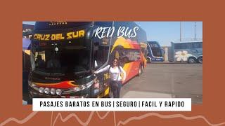 Como comprar Pasajes de Bus Barato!!! RED BUS screenshot 2