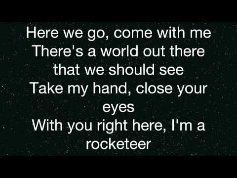 Far East Movement- Rocketeer- Lyrics (On Screen)