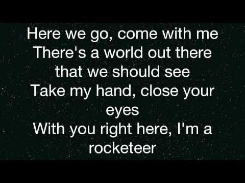 Far East Movement Rocketeer Lyrics On Screen