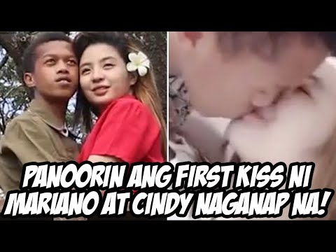 Video ng First Kiss ng sikat na couple vlogger na sina Mariano at Cindy Viral ngayon sa social media