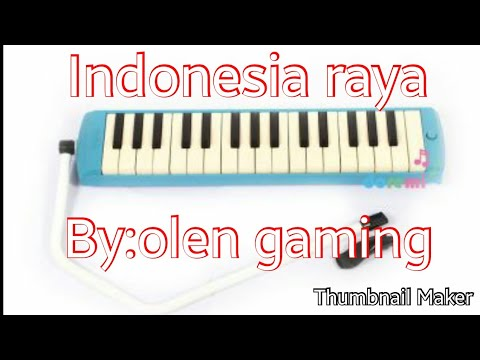 Not Angka Pianika Lagu INDONESIA RAYA||olen Gaming