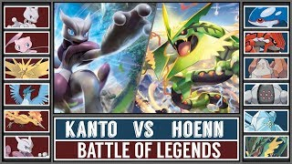 Legendary Battle: KANTO vs HOENN (Pokémon Sun/Moon)