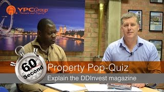 60 Second Property Pop-Quiz - Explain the DDInvest Magazine