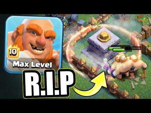 ALL MAX BOXER GIANTS vs MAX CRUSHER!!! - Clash Of Clans BUILDER VILLAGE SHOWDOWN!