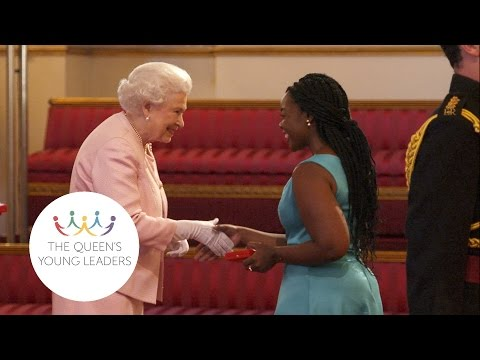 Queen's Young Leaders Of 2015 Receive Award From Her Majesty The Queen