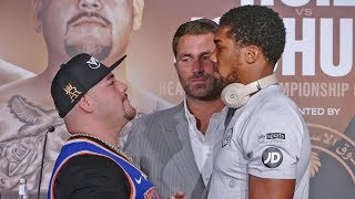 FACE TO FACE - Andy Ruiz & Anthony Joshua in Saudi Arabia Ahead of Rematch Clash