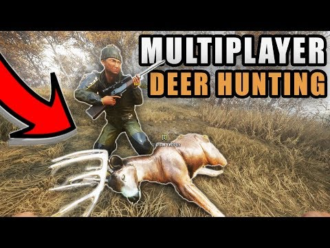 BIG GROUP HUNT! MULTIPLAYER WHITETAIL & MOOSE HUNTING | THE HUNTER CALL OF THE WILD