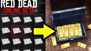 How To Get UNLIMITED GOLD & TREASURE in Red Dead Redemption 2 Online! Easy Money Tips RDR2!