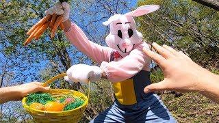 Easter Bunny Parkour VS Thief - Parkour POV Chase