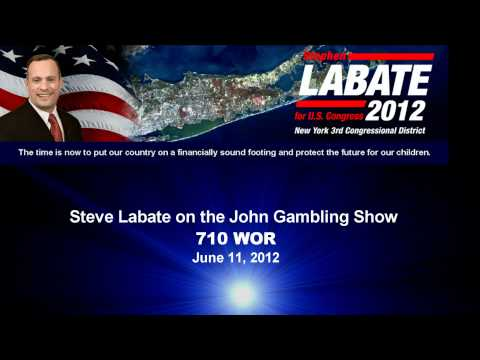 Steve Labate on the John Gambling Show 06 12 12