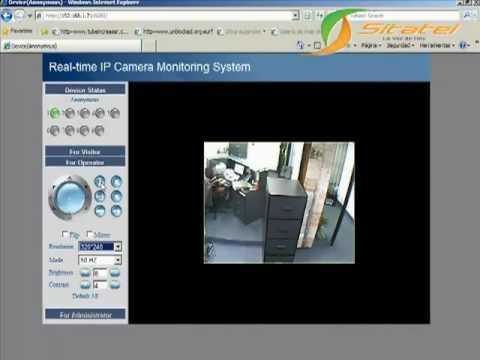 Camara ip video vigilancia por medio de internet youtube - Camaras de vijilancia ...
