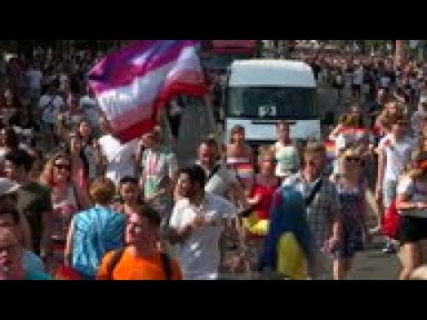 Hungary's LGBT Community Holds Pride March