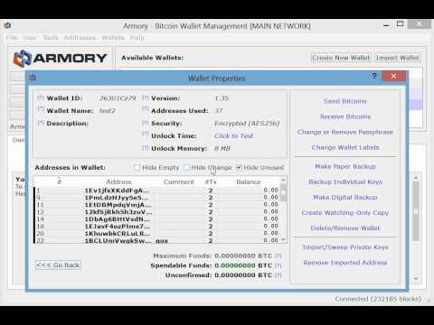 Bitcoin Armory thumbnail 1