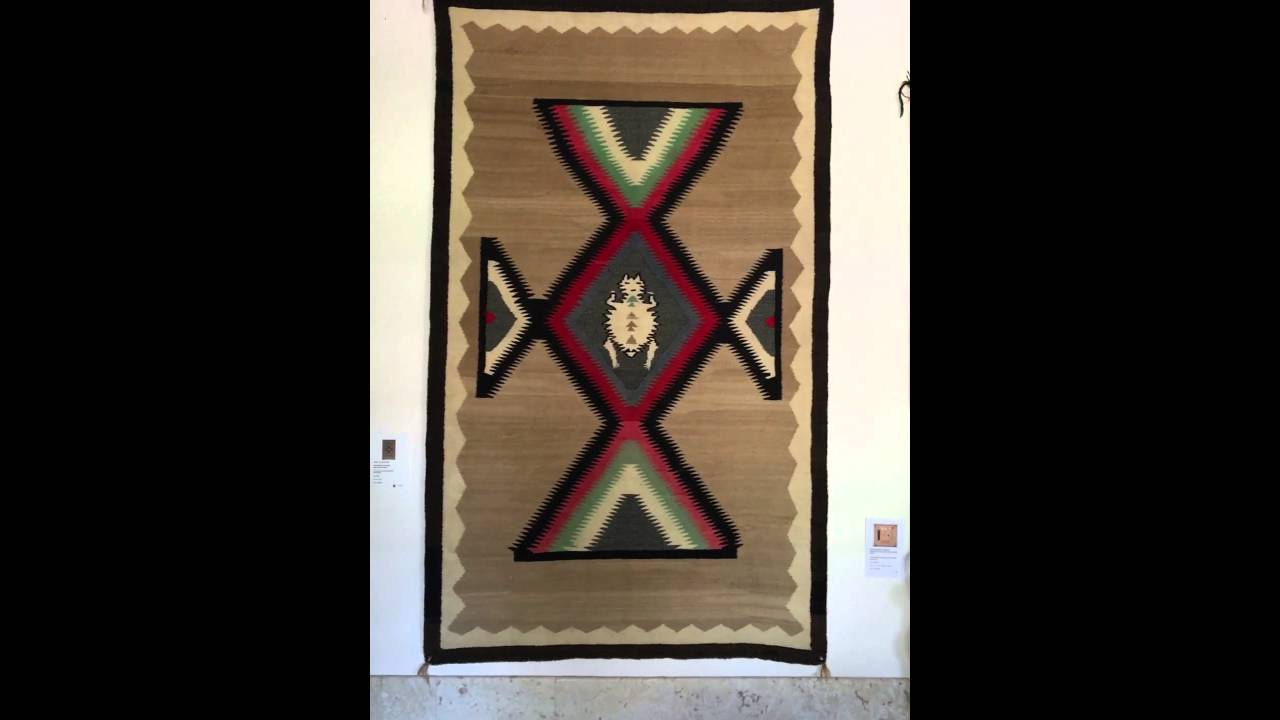Rare Navajo Rug From The 1920s Youtube