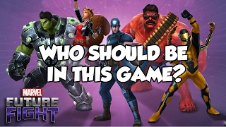 [Marvel Future Fight] WHO SHOULD BE IN THIS GAME?