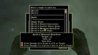 Repeat youtube video Morrowind Speedrun (7:30)