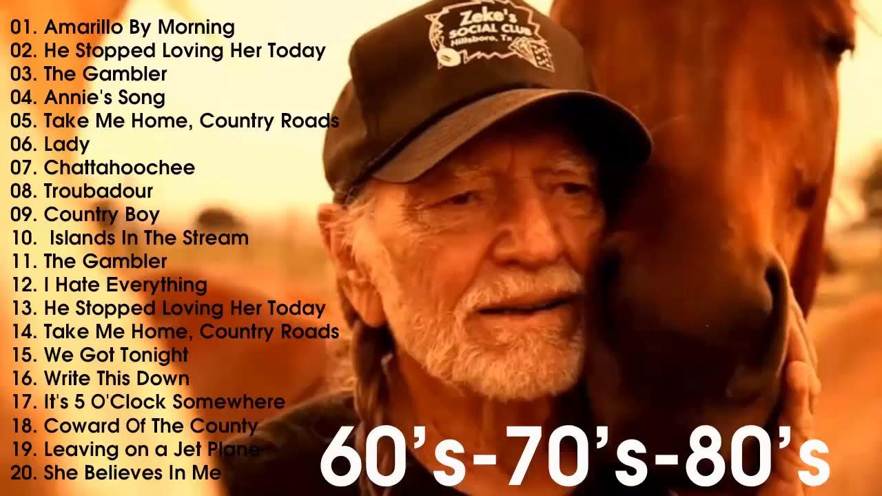 คันทรี่   เพลงคันทรี่ สากลเก่ายุค70 Vol # Classic Country Songs 70's