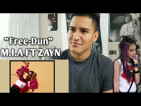 M.I.A.-FREEDUN (AUDIO) Ft. Zayn REACTION!