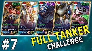 NGAKAK! NEW META FULL TANKER BIKIN LAWAN FRUSTASI - Mobile Legends Indonesia Part 7