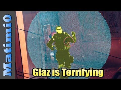 Glaz is Terrifying - Rainbow Six Siege