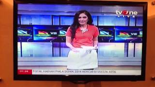 "Chelsy Liven, Presenter Kuis ""Indofood"" Final World Cup 2014 Brazil di TV One"