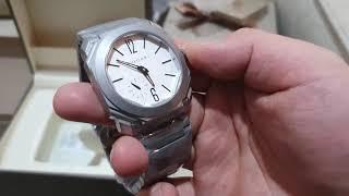 원로마 레플리카 불가리 옥토 스위스무브 화이트판 시계 …