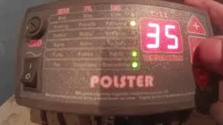 Налаштування контролера твердопаливного котла POLSTER C 11