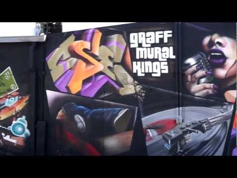 Graff Mural Kings  Houston Graffiti  Cease and The One Lee