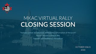 Closing Session | Day 2 | National Virtual Educational Rally 2020 | MKAC