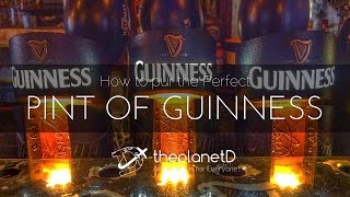 The Perfect Pint of Guinness with the Planet D