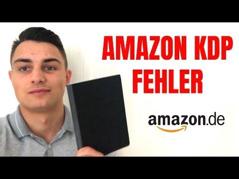 Amazon KDP Self Publishing - Dinge die du NICHT machen solltest