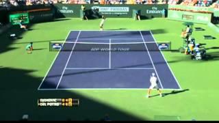 ATP World Tour Indian Wells 2013 Semi-final Djokovic - Del Potro