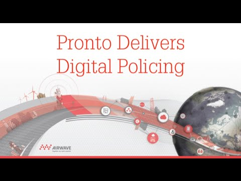 Pronto – delivering digital policing today