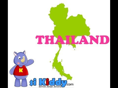 Thailand - Learn About Asian Countries For Kids