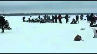 Рыбаки и льдина