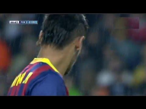 Barcelona vs Celta Vigo 3-0 All Goals & Highlights 26.03.2014