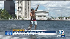 Paddleboard excitement in West Palm Beach