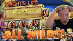 27 Free spins!?!? on knights life BIG WIN from Merkur