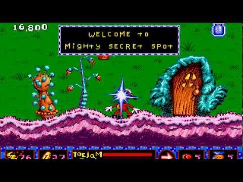ToeJam & Earl In Panic On Funkotron Longplay (Mega Drive/Genesis) [60 FPS]