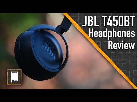 JBL T450BT Bluetooth Headphones | Review | The Sound Of Tech