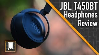 JBL T450BT Bluetooth Headphones | Review | The Sound Of Tech