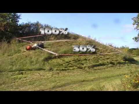 Timan RC-750 slope mower