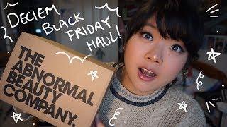 2018 DECIEM Black Friday Haul (NIOD, Hand Chemistry, The Ordinary)