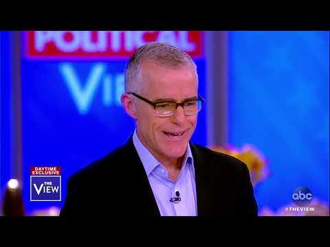 Andrew McCabe on His Criticisms of Former Attorney General Jeff Sessions | The View