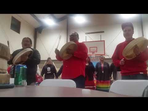 Skunky Scabbyrobe Wahelut Indian School Honoring MMIW Round Dance 2019