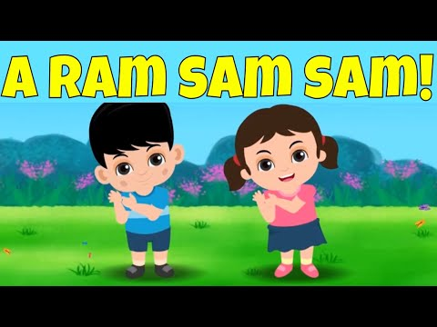 A Ram Sam Sam! Favorite Song and Dance for Kids!