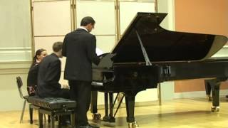 A. Dvorak: Slavonic Dances (selection) - performed by the Slavonic Piano Duo