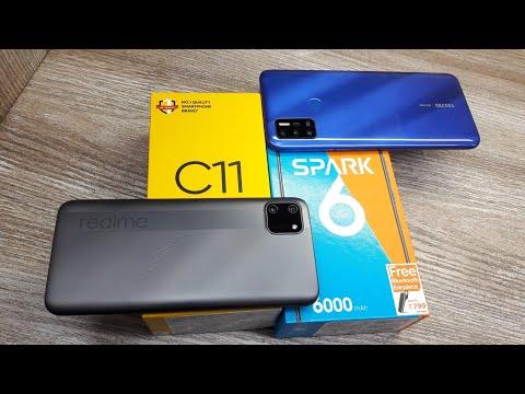 Tecno Spark 6 Air vs Realme C11 - Which Should You Buy ?