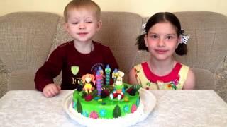 Барбоскины торт. День рождения