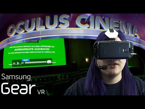 Gear VR - Oculus Cinema - YouTube